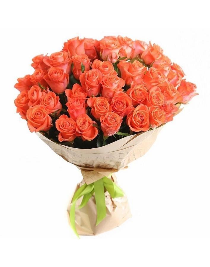 Букет, заказать цветы через интернет спб оранж